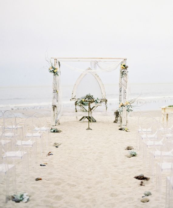 Beach Wedding Altar Decorations: Wedding Ceremony Arch Inspiration