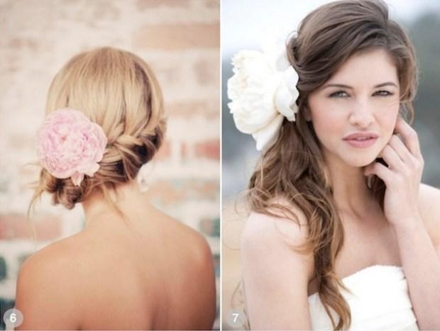 ROMANTIC WEDDING HAIRSTYLES USING FLOWERS Crazyforus
