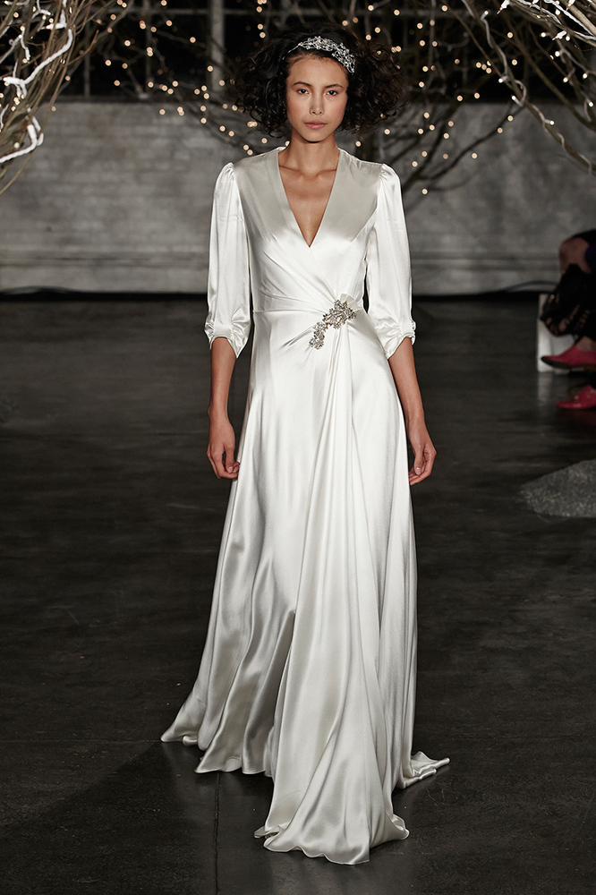Non Strapless Wedding Dresses | Non Strapless Wedding Gowns We Love From Bridal Market Fall 2013