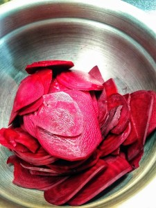 Roasted Beet Slices