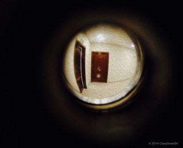 Through the Peephole!