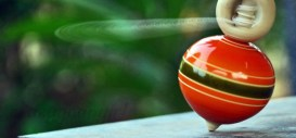 A spinning Top - a classic game from before the yoyo!