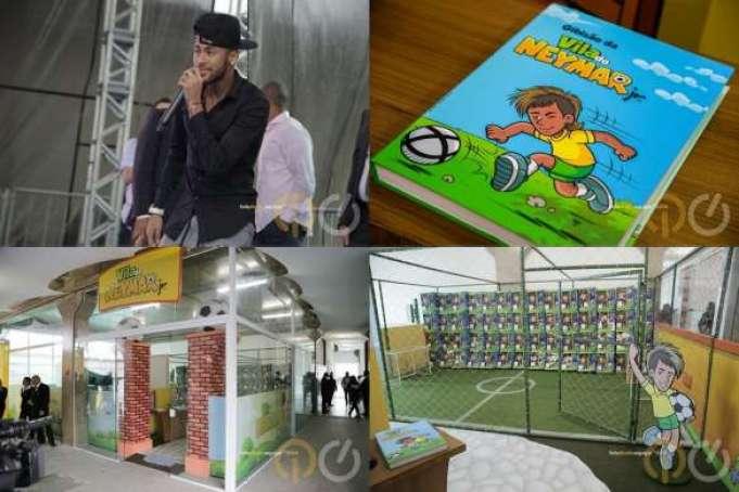 Lançado no final de 2014 na Praia Grande, o Instituto Projeto Neymar Jr também conta com a Vila do jogador, idealizada pela Invent Live Marketing.