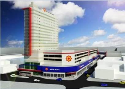 Hotel Mega Moda Soft In terá 270 apartamentos.