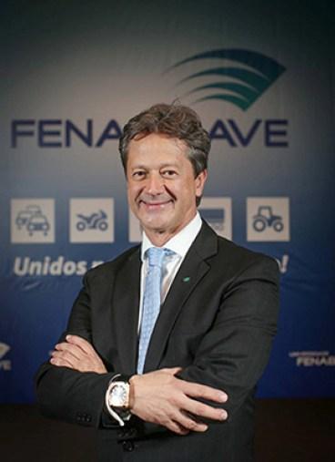 O executivo foi eleito Presidente da FENABRAVE para o triênio 2015-2017.