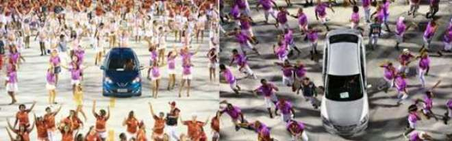 Este é o segundo ano seguido que a Nissan apoia a Escola de Samba Acadêmicos do Salgueiro no Carnaval do Rio de Janeiro.