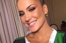 Claudia Leitte revela maquiagem poderosa para entrar na Sapucaí