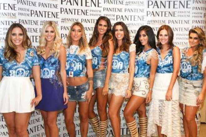Para fazer jus ao samba-enredo da escola Mangueira, a marca Pantene reuniu um time de rainhas.