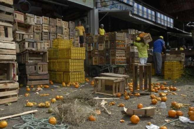 Nos países em desenvolvimento o desperdício de alimentos acontece basicamente em virtude de problemas de armazenamento.