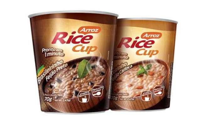 Lançamento vem com os novos sabores arroz com feijão carioca e arroz com feijão preto.