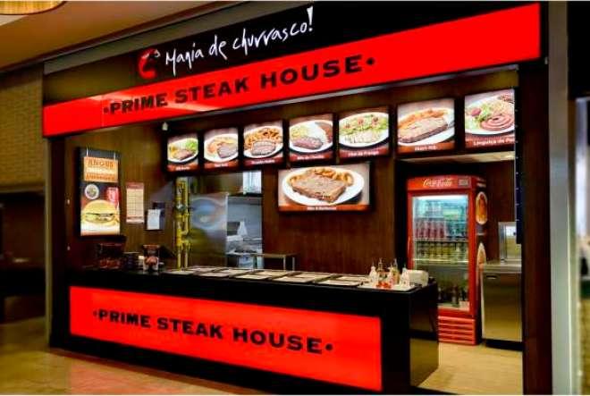 Rede de fast food especializada em churrasco abre sua 24ª loja e traz carnes nobres para a praça de alimentação do shopping, na avenida Rebouças.