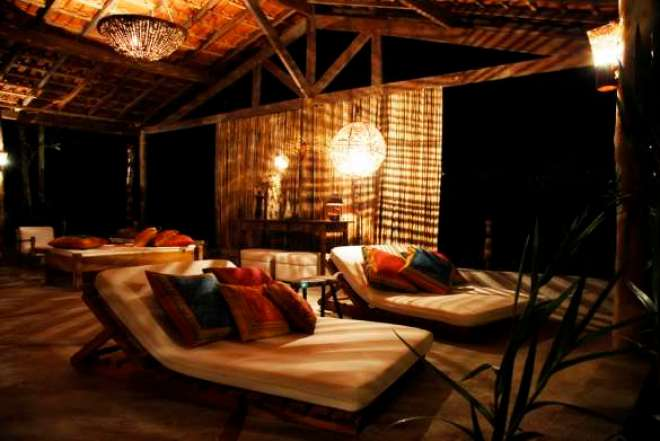 Lounge para descanso