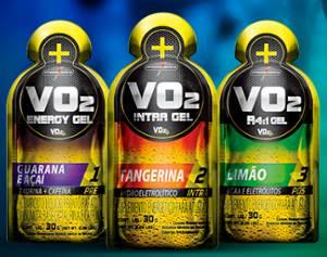 A marca disponibilizará no kit do atleta e irá distribuir durante o percurso da corrida a linha VO2 Gel.