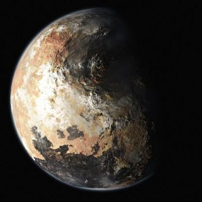 """O objetivo é captar as primeiras imagens claras e registrar os primeiros dados de Plutão, um """"planeta anão"""" . Credit: NASA/Johns Hopkins University Applied Physics Laboratory/Southwest Research Institute"""