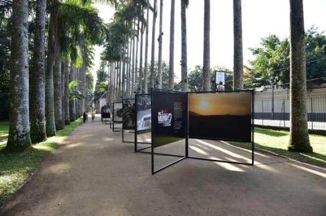 O canal promove uma exposição no Jardim Botânico do Rio de Janeiro com 28 fotos feitas pelo fotógrafo Michel Coeli durante a viagem.