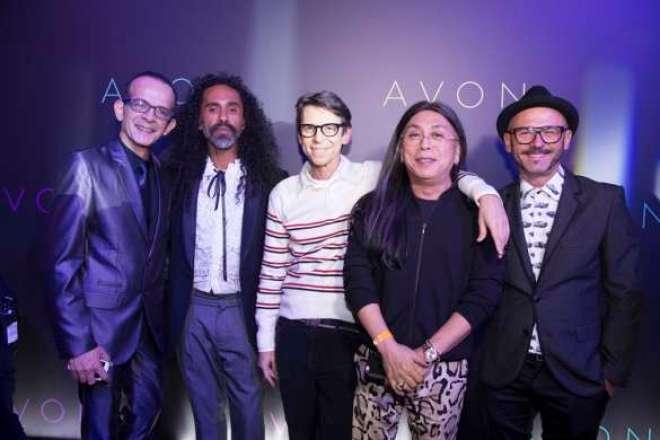 Cliente: Avon,  Sao Paulo, SP - 15/09/2015 - 20 Premio Avon de Maquiagem - Premiacao. Danilo Toscano, Max Weber, Duda Molinos, Celso Kamura e Theo Carias. Foto: Adri Felden/Argosfoto.
