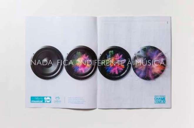 """Ação inédita criada pela DPZ&T é parte da campanha """"Nada fica indiferente à música"""" e traz uma edição completa sobre o programa."""