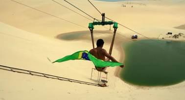 O verão é o cargo chefe da promoção do Brasil.