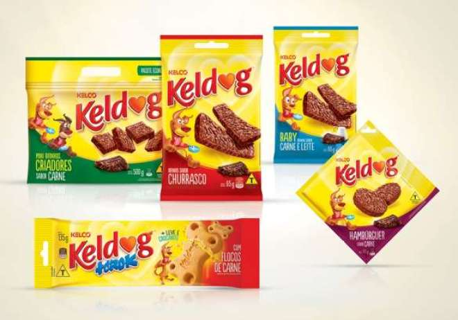 Essa revitalização foi pensada estrategicamente para unificar a linha de produtos Keldog