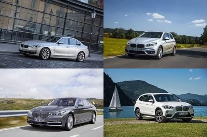 BMW Série 7, BMW X1, BMW Série 3, BMW Série 2 225xe e BMW M6 GT3 estreiam na mostra alemã.