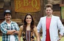 Primeiro reality show sobre churrasqueiros amadores do País será comandado porTiciana Villas Boas e terá Carlos Bertolazzi e Rogério deBetti como jurados. (Foto: Gabriel Gabe/SBT)