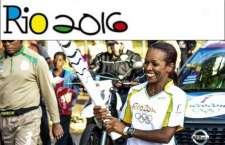 Campeã da São Silvestre conduz Tocha Olímpica Rio 2016 em Sertãozinho