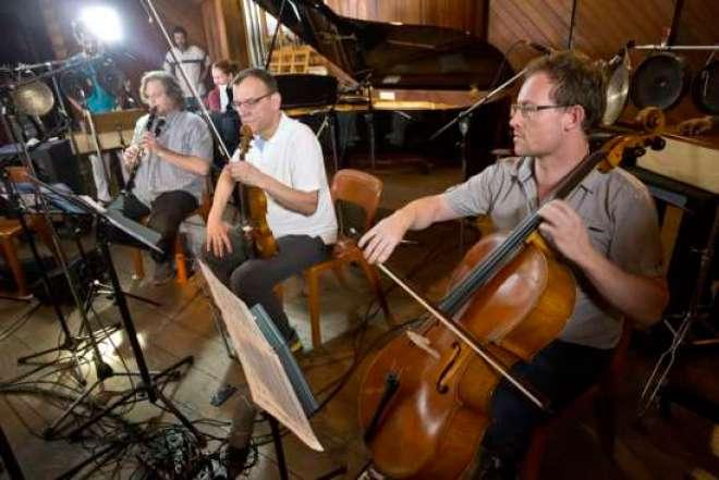 Making of CD Musica-Nova, com ireção musical e artística é do maestro norte-americano Jack Fortner.