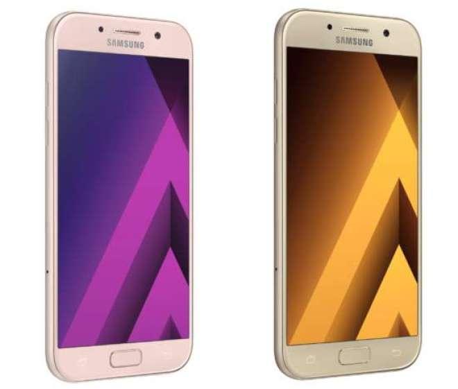 O Galaxy A (2017) conta com a perfeita combinação de metal e vidro que dá mais ergonomia aos aparelhos proporcionando mais conforto aos usuários.
