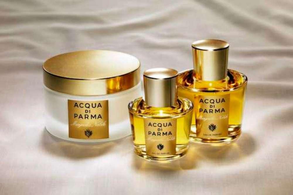 Magnolia Nobile Eau de Parfum, da Acqua di Parma: uma das linhas que você encontrará na