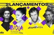 """""""BIXA"""" e """"Ottomatopeia"""" estreiam juntos na festa Sexta Básica, da Audio."""