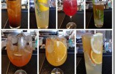 Drinks autorais no Restaurante Basilicata