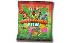 Peccin lança pirulitos com formatos de bichos e garante uma aventura selvagem