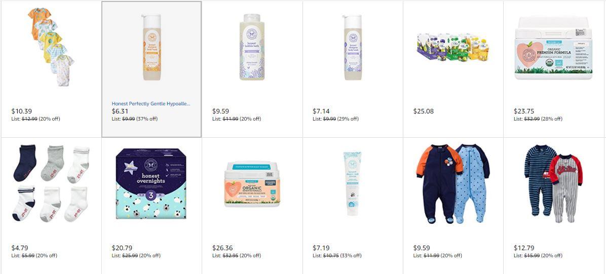 Amazon's September Baby Savings Event