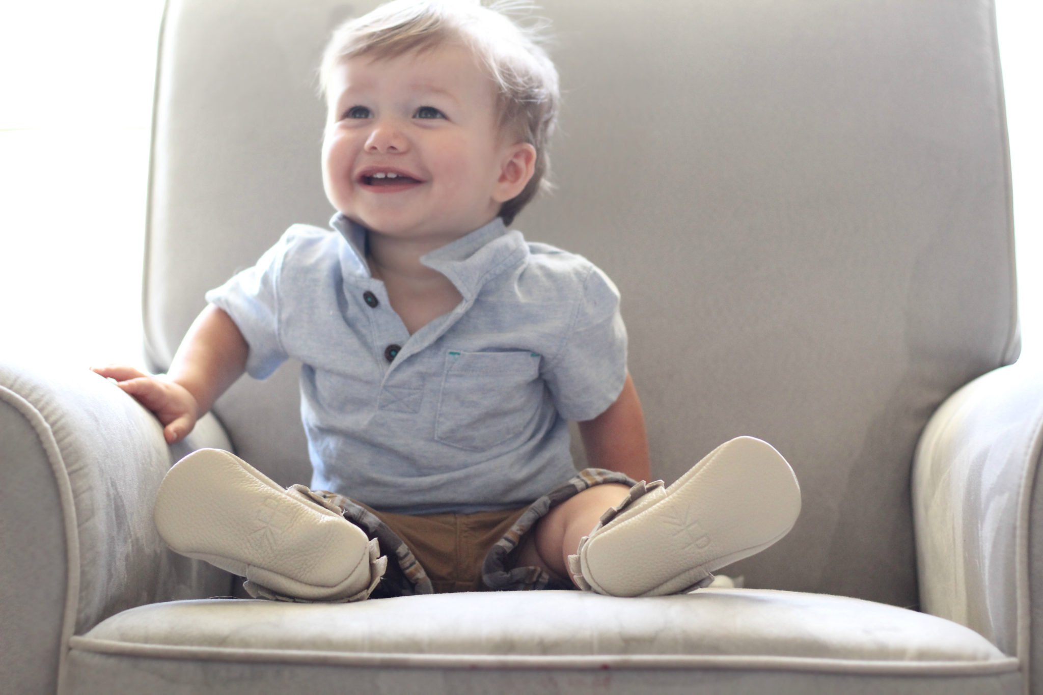 Freshly Picked Crib Moccasins for Toddlers, shoes for fat baby feet, baby shoes that won't fall off