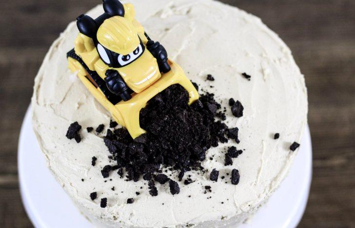 DIY Vanilla Smash Cake