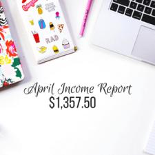 Blog Income Report – April 2017