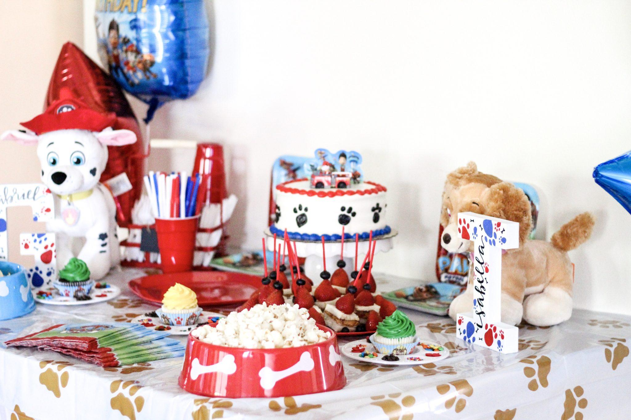 Paw Patrol Party Birthday Party Theme Summer Birthday