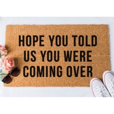 10 HILARIOUS WELCOME DOOR MATS ON ETSY AND AMAZON