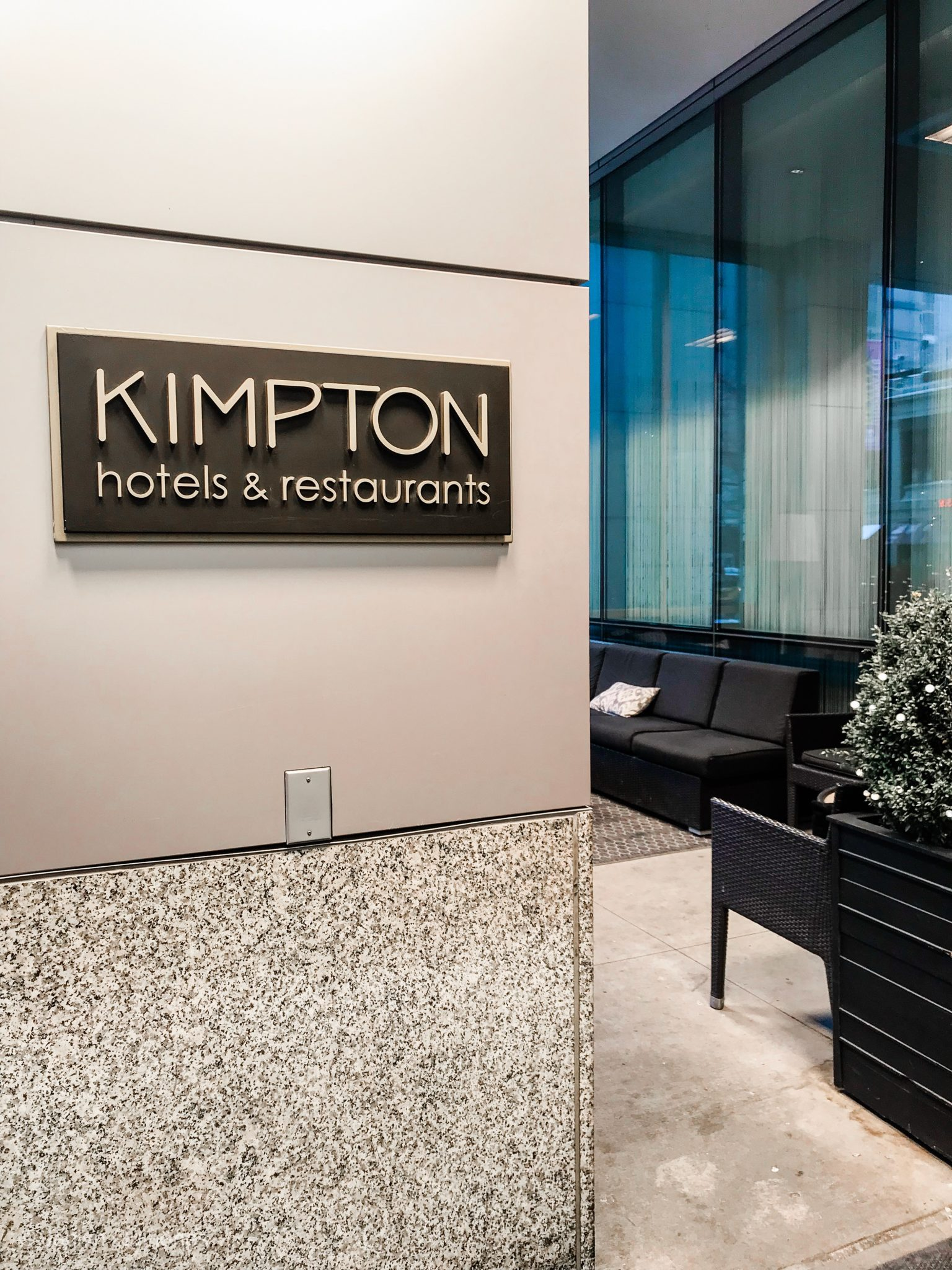 Kimpton Hotel Palomar located in downtown Chicago - written by Crazy Life with Littles, a Tampa lifestyle and mom blog