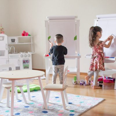 PAINTING PLAYROOM ART FOR TODDLERS