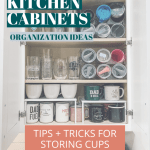 4 Tools To Successfully Organize Your Kitchen Cabinets Crazy Life With Littles Diy Home Decor