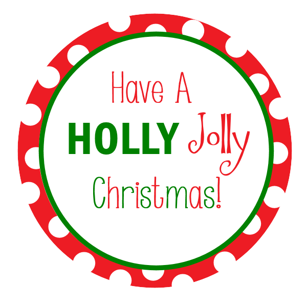 Free Printable Christmas Tags Crazy Little Projects