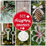 25 Diy Christmas Ornaments To Make This Year Crazy Little Projects