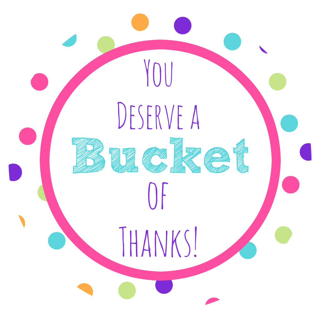 Thank You T Ideas Bucket Of Thanks