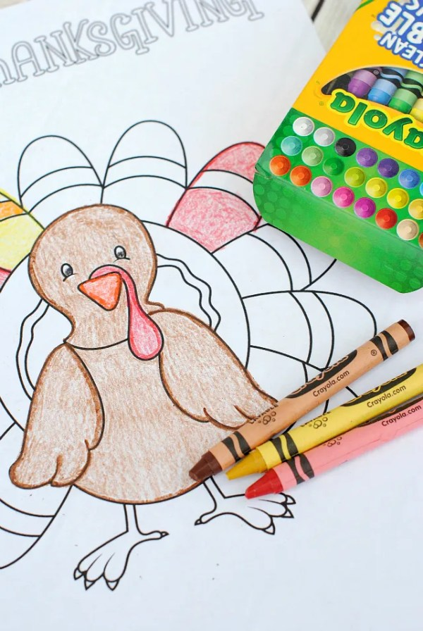 free printable turkey coloring pages # 13