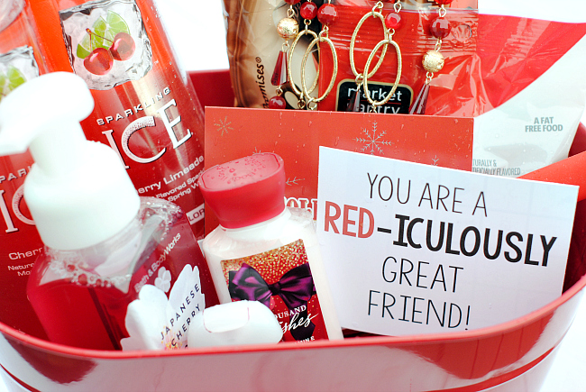 RED Iculously Great Gift Idea Crazy Little Projects