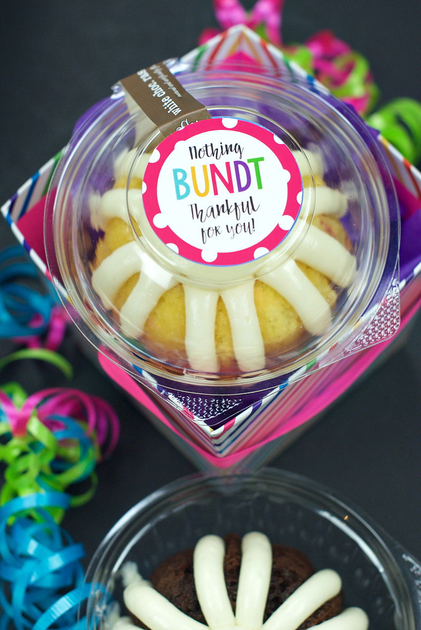 Nothing Bundt Grateful For You Crazy Little Projects