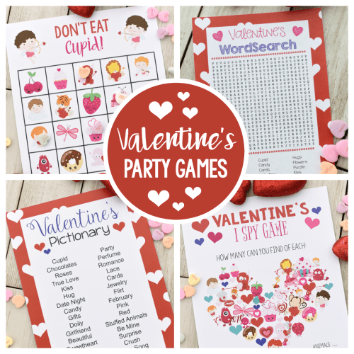 Valentine's Bingo Game to Print & Play – Fun-Squared