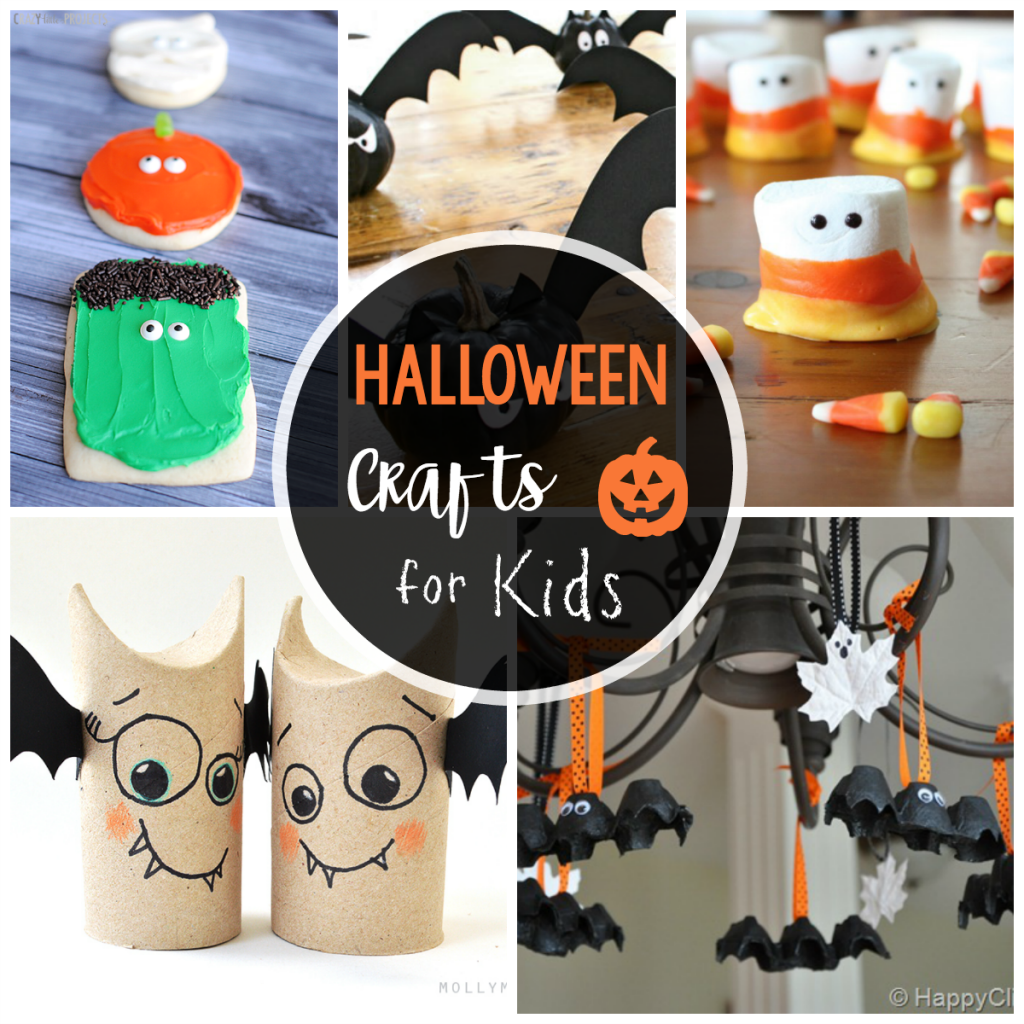 25 Cute Amp Easy Halloween Crafts For Kids