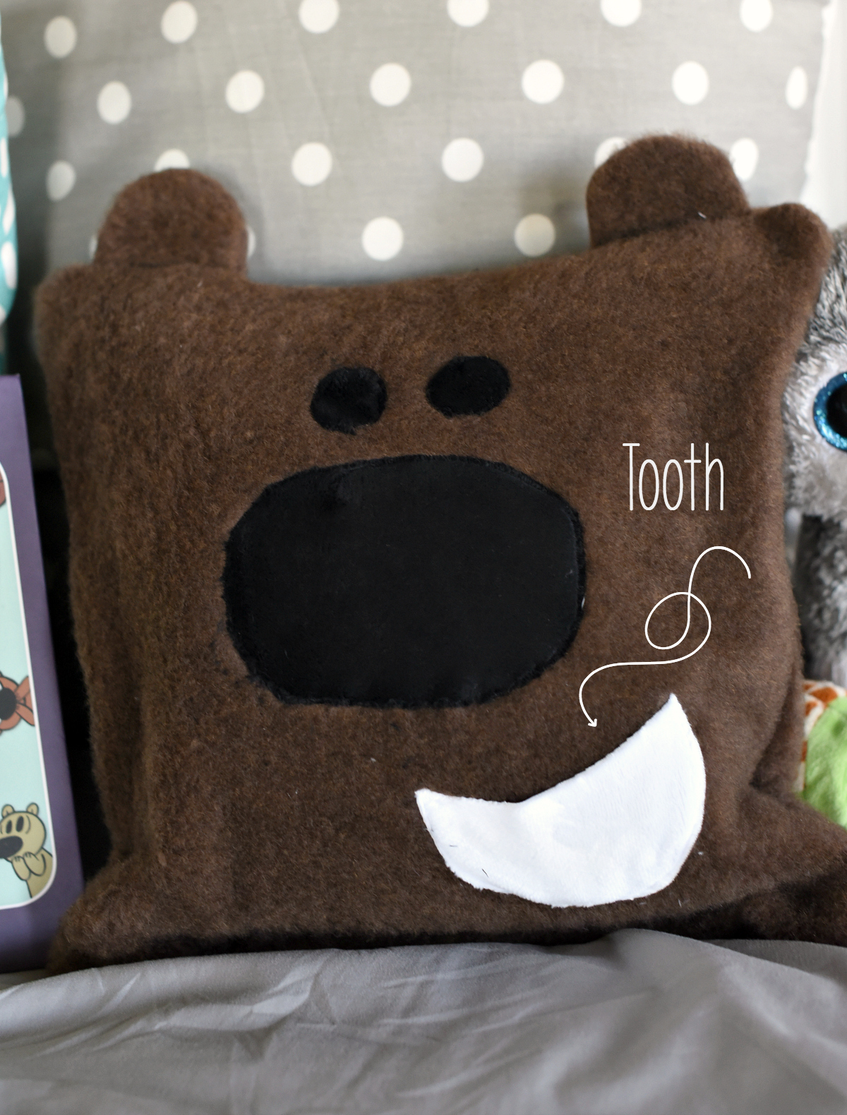 cute tooth fairy pillow pattern crazy